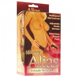 Alias Female Strap On mauve.