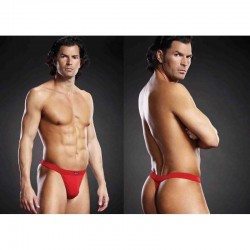 BLUE LINE Performance Microfiber Thong rot S/M