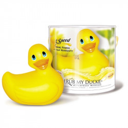 Canards vibrant jaune Bade-Ente I RUB MY DUCKIE 3 vibrations.