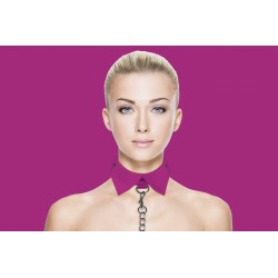 OUCH! Exclusive collar - Collier laisse rose