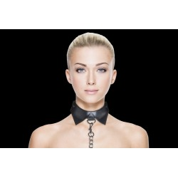 OUCH! Exclusive collar - Collier laisse noir