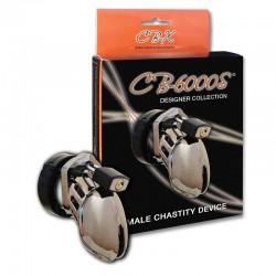 Male Chastity CB-6000S chrome