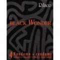 RILACO Préservatif noir Black Wonder par 4