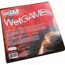JOYDIVISION SexMAX Wetgames Drap 180x220 rouge