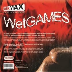 JOYDIVISION SexMAX Wetgames Drap 180x220cm noir