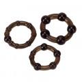 Pro Rings 3er Set frosted noir