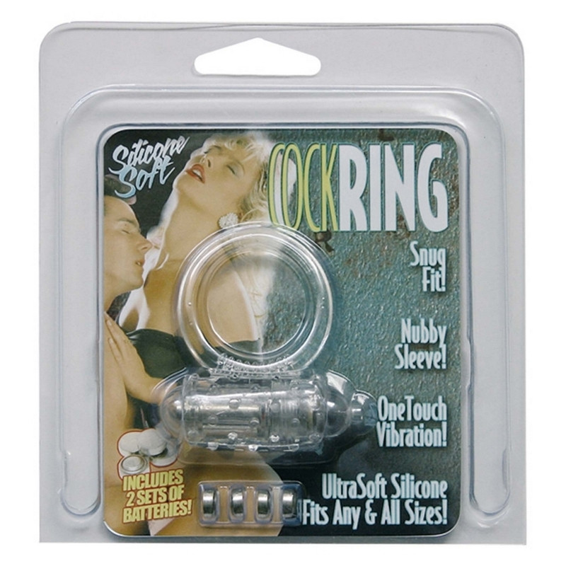 SEVEN CREATIONS Soft Cockring silicone Transparent