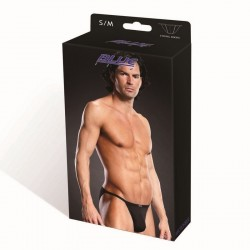 BLUE LINE Performance Microfiber String Bikini blk S/M