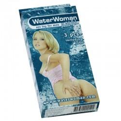 WaterWoman Anal 3 pièces rose clair.