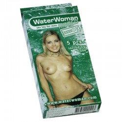 WaterWoman Ribbed 5 pièces rose