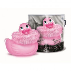 Canard vibrant Bade-Ente I RUB MY DUCKIE Paris rose
