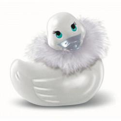 Petit canard vibrant Paris mini blanc