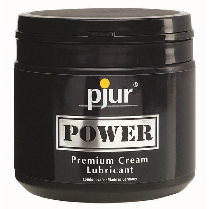 pjur Power Premium Cream 500ml Tiegel