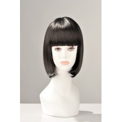 Perruque China Doll Brun