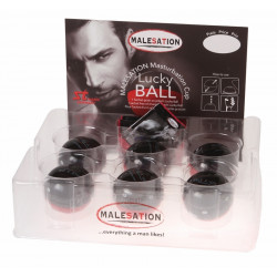 MALESATION Masturbation Cup - Lucky Ball (6er Display)