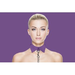 OUCH! Exclusive collar - Collier laisse violet