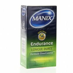 MANIX Préservatifs Endurance par 14