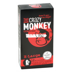 THE CRAZY MONKEY Condoms X-Large 12 St.