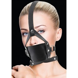 OUCH! Leather Mouth Gag noir