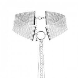 BIJOUX INDISCRETS Magnifique collier en mailles métalliques