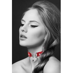 BIJOUX POUR TOI Collier pendentif cœur rouge
