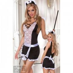 FANCY Costume soubrette avec robe