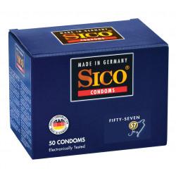 SICO 57 préservatifs par 50