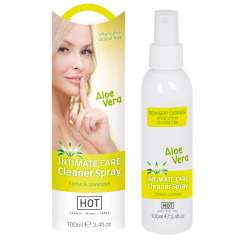 HOT INTIMATE CARE Cleaner Spray Aloe Vera 100ml