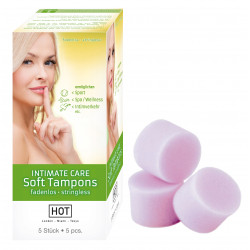 HOT INTIMATE CARE Soft Tampons Par 5