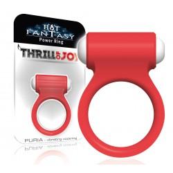 HOT FANTASY Thrill of Joy Puria Vibro-Ring rouge