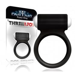 HOT FANTASY Thrill of Joy Puria Vibro-Ring noir