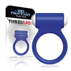 HOT FANTASY Thrill of Joy Puria Vibro-Ring bleu