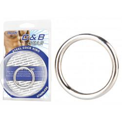 BLUE LINE C&B GEAR Cockring Acier 3,3cm