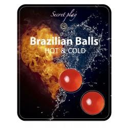 SECRET PLAY Brazilian Balls Effet chaud/froid par 2
