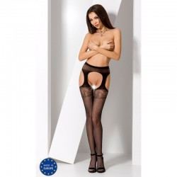 PASSION Collant ouvert S005