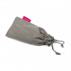 BE HAPPY Pochette velours petite