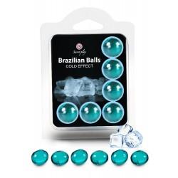 SECRET PLAY Brazilian Balls Effet froid par 6