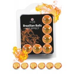 SECRET PLAY Brazilian Balls Effet chaud par 6