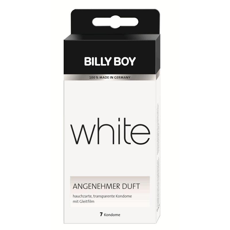 BILLY BOY White 7 préservatifs fins
