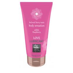 SHIATSU Edible Love lubricant - Framboise 75ml