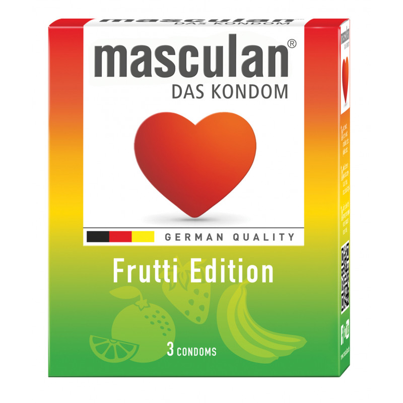 MASCULAN Préservatif Frutti Edition par 3
