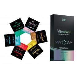INTT Gel Vibrant 6 Saveurs (12x5ml Sachets)